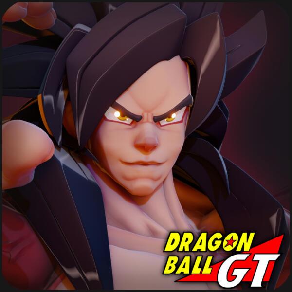 """Goku Super Sajajin Lv4 """"Fanart"""""""