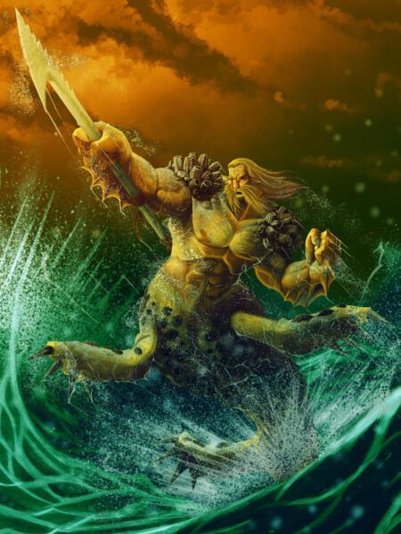 Millalobo king of the Seas