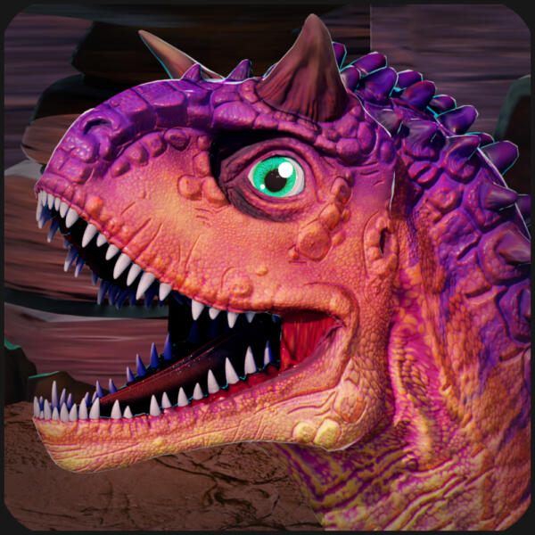 Carnotaurus Cartoon